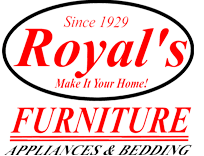 Royal's Furniture, Appliances & Bedding Logo